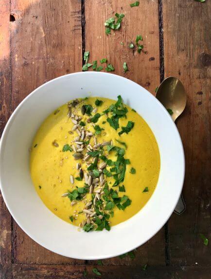 Kabaču burkānu zupa