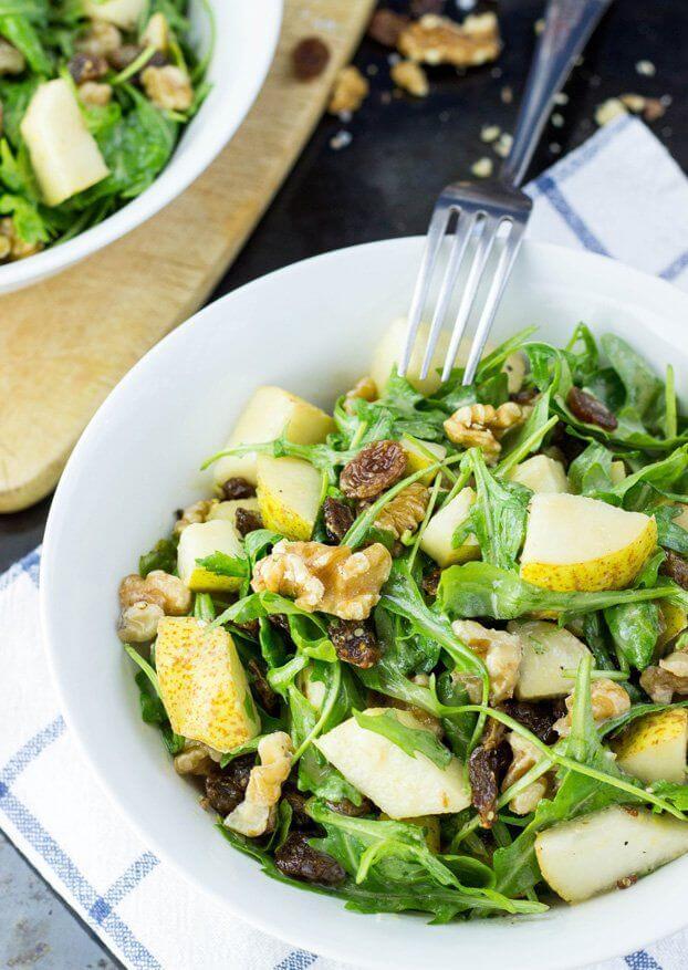 Bumbieru-valriekstu salāti